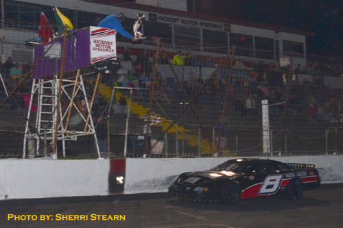 Hms race results for Roberts motors hickory nc