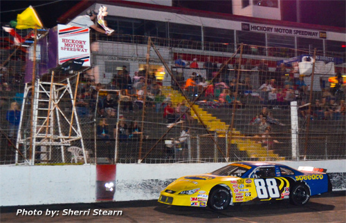 Hickory motor speedway birthplace of the nascar stars for Roberts motors hickory nc