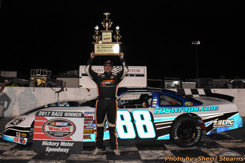 Sept. 2nd , The 41st Annual Paramount Auto Group Bobby Isaac Memorial presented by Black's Tire & Auto Service would see beautiful racing weather and one of ...