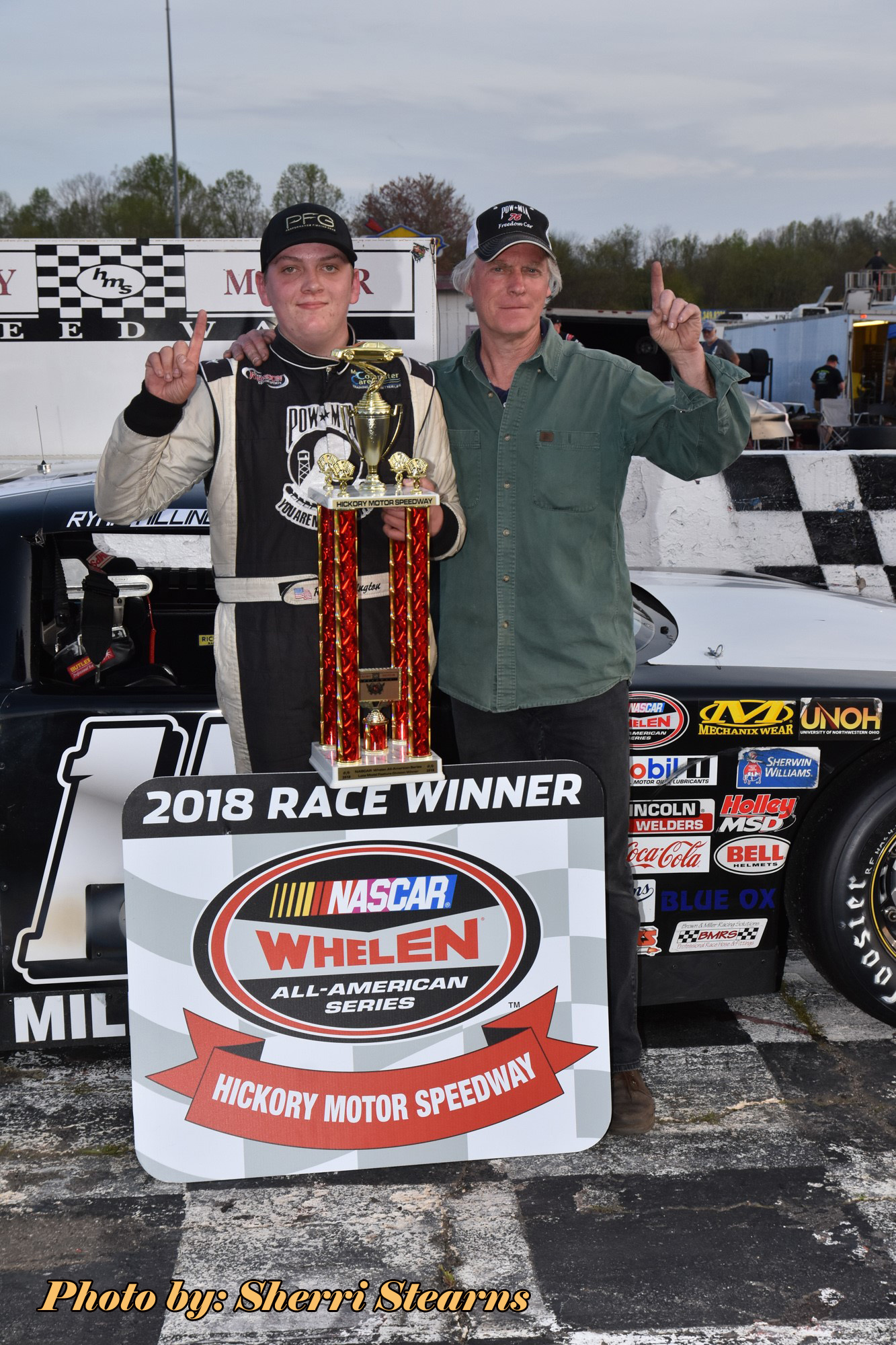 The thunder roared again in the Catawba Valley, not for rain but the engines fired at the Birthplace of the NASCAR Stars, Hickory Motor Speedway ...