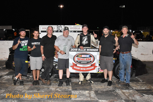 Engines roared to life once again at the Birthplace of the NASCAR Stars as Hickory Motor Speedway welcomed Woodforest Bank for their Night at the Races.